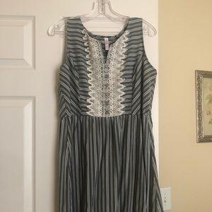 XL stripped dress